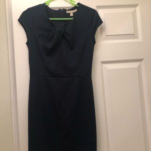 Pencil skirt type dress, navy blue, worn once